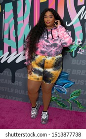 New York, NY - September 21, 2019: Lizzo attends Bustle's 2nd Annual Rule Breakers Festival at LeFrak Center at Lakeside Prospect Park