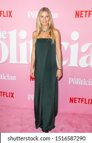 New York, NY - September 26, 2019: Gwyneth Paltrow attends Netflix The Politician premiere at DGA Theater