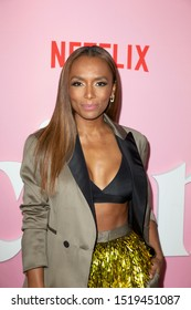 """NEW YORK, NY - SEPTEMBER 26: Janet Mock attends the premiere of Netflix's """"The Politician"""" at DGA Theater on September 26, 2019 in New York City."""