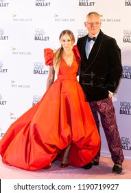 New York, NY - September 27, 2018: Sarah Jessica Parker and Giles Deacon attend New York City Ballet 2018 Fall Fashion Gala at David H. Koch Theater at Lincoln Center