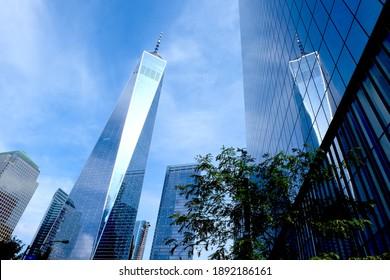 New York, NY, USA, 09.19.2018: 1 World Trade Center (Freedom Tower)