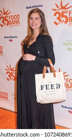 New York, NY, USA - April 17, 2018: Lauren Bush Lauren attends the Food Bank for New York City's Can Do Awards Dinner at Cipriani Wall Street, Manhattan
