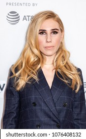 New York, NY, USA - April 23, 2018:  Zosia Mamet attends the screening of 'Fabled' at Tribeca TV: Indie Pilots during the 2018 Tribeca Film Festival at Cinepolis Chelsea, Manhattan
