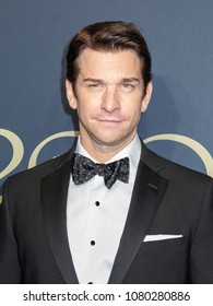 New York, NY, USA - April 25, 2018: Andy Karl attends the Brooks Brothers Bicentennial Celebration at Jazz At Lincoln Center, Manhattan