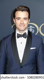 New York, NY, USA - April 25, 2018: Corey Cott attends the Brooks Brothers Bicentennial Celebration at Jazz At Lincoln Center, Manhattan
