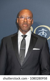 New York, NY, USA - April 25, 2018: Courtney B. Vance attends the Brooks Brothers Bicentennial Celebration at Jazz At Lincoln Center, Manhattan