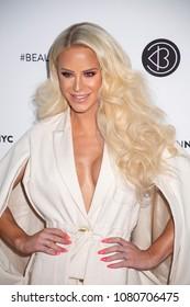 New York, NY, USA - April 21, 2018:Gigi Gorgeous attends Beautycon Festival NYC 2018 at Jacob K. Javits Convention Center, Manhattan