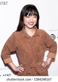 """New York, NY, USA - April 28, 2019: Andrea Bang attends """"Luce"""" premiere during 2019 Tribeca Film Festival at The Stella Artois Theatre, Manhattan"""