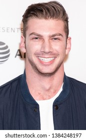 """New York, NY, USA - April 28, 2019: Noah Gaynor attends """"Luce"""" premiere during 2019 Tribeca Film Festival at The Stella Artois Theatre, Manhattan"""