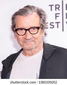 """New York, NY, USA - April 30, 2019: Griffin Dunne attends National Geographic's premiere of """"The Hot Zone"""" during 2019 Tribeca Film Festival at SVA Theater, Manhattan"""