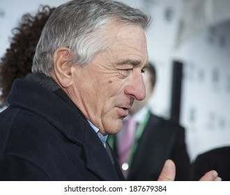 New York, NY, USA - April 16, 2014: Robert De Niro attends the 2014 Tribeca Film Festival Opening Night Premiere of 'Time Is Illmatic' at The Beacon Theatre, Manhattan