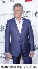 New York, NY, USA - April 25, 2015: Ray Liotta attends the Tribeca Film Festival closing night, 25th anniversary of Goodfellas, during the 2015 Tribeca Film Festival at Beacon Theatre, Manhattan