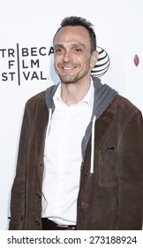 New York, NY, USA - April 25, 2015: Actor Hank Azaria attends 2015 Tribeca Film Festival closing night, 25th anniversary of Goodfellas, co-sponsored by Infor and Roberto Coin at Beacon Theatre