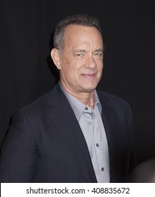 New York, NY, USA - April 20, 2016: Actor Tom Hanks attends the 'A Hologram For The King' premiere during the 2016 Tribeca Film Festival at the John Zuccotti Theater at BMCC Tribeca PAC
