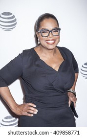 New York, NY, USA - April 20, 2016: Actress, producer Oprah Winfrey attends the 'Greenleaf' premiere during the 2016 Tribeca Film Festival at the John Zuccotti Theater at BMCC Tribeca PAC, NYC