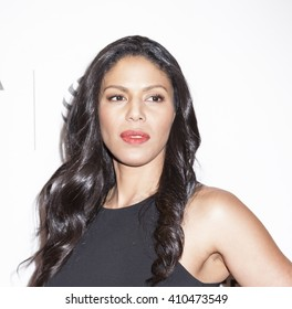New York, NY, USA - April 20, 2016: Actress Merle Dandridge attends the 'Greenleaf' premiere during the 2016 Tribeca Film Festival at the John Zuccotti Theater at BMCC Tribeca Performing Arts Center