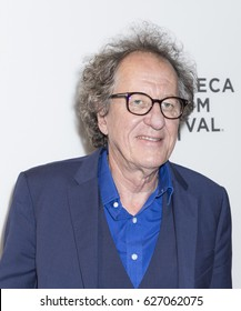 NEW YORK, NY , USA - APRIL 20: Actor Geoffrey Rush attends National Geographic's 'Genius' Premiere during the 2017 Tribeca Film Festival at BMCC Tribeca PAC, Manhattan