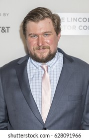 NEW YORK, NY , USA - APRIL 24: Actor Michael Chernus attends North American Premiere of THE DINNER during the 2017 Tribeca Film Festival at BNCC Tribeca PAC, Manhattan