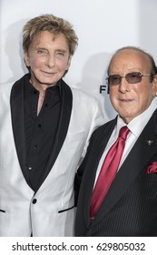 New york, NY, USA, April 19, 2017: Barry Manilow and Clive Davis attend 2017 Tribeca Film Festival - 'Clive Davis: The Soundtrack Of Our Lives' world premiere - opening night at Radio City Music Hall