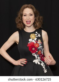 New York, NY USA - April 28, 2017: Ellie Kemper attends premiere of Unbreakable Kimmy Schmidt during 2017 Tribeca Film festival at BMCC