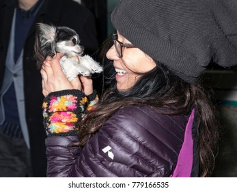 New York, NY, USA - December 19, 2017: Actress Janeane Garofalo attend Paw Prints 1st Annual Paw-liday party screening of Best in Show at IFC center
