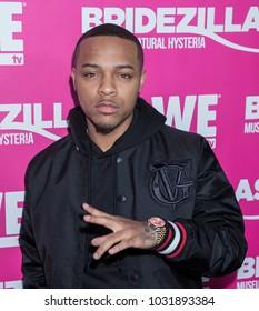 New York, NY, USA - February 22, 2018: Bow Wow attends WE TV Launches Bridezillas Museum Of Natural Hysteria at Arena, Manhattan