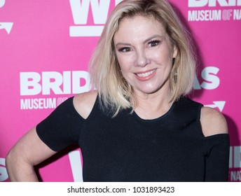 New York, NY, USA - February 22, 2018: Ramona Singer attends WE TV Launches Bridezillas Museum Of Natural Hysteria at Arena, Manhattan