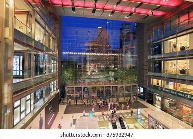 NEW YORK, NY, USA: JULY 16: Time warner shopping center, July 16, 2013