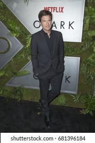 New York, NY USA - July 20, 2017: Jason Bateman attends Netflix Ozark New York Premiere screening at Metrograph
