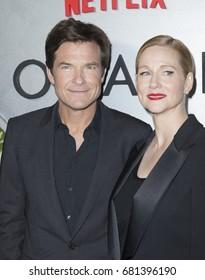 New York, NY USA - July 20, 2017: Jason Bateman and Laura Linney attend Netflix Ozark New York Premiere screening at Metrograph