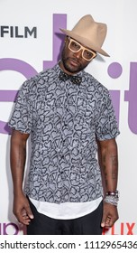 New York, NY, USA - June 12, 2018: Actor Taye Diggs attends the New York special screening of the Netflix film 'Set It Up' at AMC Loews Lincoln Square