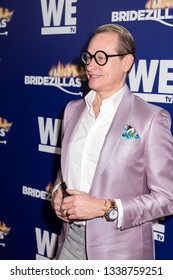 New York, NY, USA - March 13, 2019: Carson Kressley attends WEtv's premiere fashion event celebrating the return of 'Bridezillas at Angel Orensanz Foundation, Manhattan
