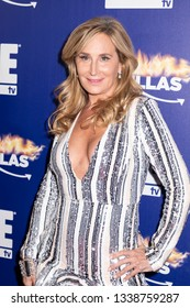 New York, NY, USA - March 13, 2019: Sonja Morgan attends WEtv's premiere fashion event celebrating the return of 'Bridezillas at Angel Orensanz Foundation, Manhattan