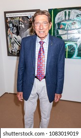 New York, NY, USA - May 3, 2018: Former American football quarterback Joe Namath attends Art New York at Pier 94, Manhattan