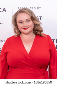 """New York, NY, USA - May 1, 2019: Actress Danielle Macdonald attends a Premiere of """"Skin""""  during 2019 Tribeca Film Festival at SVA Theater, Manhattan"""