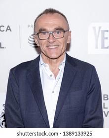 "New York, NY, USA - May 4, 2019: Danny Boyle attends ""Yesterday"" Closing Night Gala Film during 2019 Tribeca Film Festival at The Stella Artois Theatre, Manhattan"