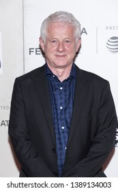 """New York, NY, USA - May 4, 2019: Richard Curtis attends """"Yesterday"""" Closing Night Gala Film during 2019 Tribeca Film Festival at The Stella Artois Theatre, Manhattan"""