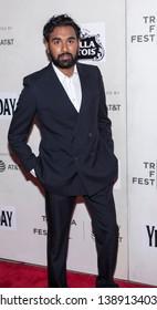 "New York, NY, USA - May 4, 2019: Himesh Patel attends ""Yesterday"" Closing Night Gala Film during 2019 Tribeca Film Festival at The Stella Artois Theatre, Manhattan"