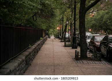 New York, NY / USA - May 05, 2017: Upper East Side