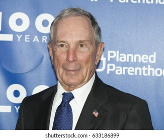 New York, NY USA - May 2, 2017: Michael Bloomberg attends the Planned Parenthood 100th Anniversary Gala at Pier 36