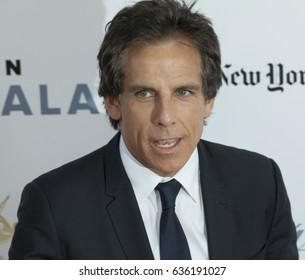 New York, NY USA - May 8, 2017: Ben Stiller attends the 44th Chaplin Award Gala at David H. Koch Theater at Lincoln Center