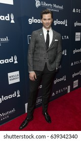 New York, NY USA - May 6, 2017: Andrew Rennells attends 28th Annual GLAAD media awards at Hilton Midtown hotel in New York