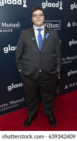 New York, NY USA - May 6, 2017: Gavin Grimm attends 28th Annual GLAAD media awards at Hilton Midtown hotel in New York