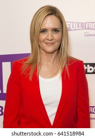 New York, NY USA - May 16, 2017: Samantha Bee attends TBS Full Frontal With Samantha Bee at New World Stages Theater
