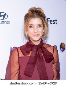 """New York, NY, USA - October 23, 2019: Kate Walsh attends the opening night screening of """"Sell By"""" during NewFest Film Festival at SVA Theater, Manhattan"""