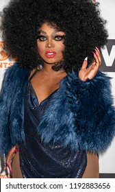 New York, NY, USA - September 29, 2018: Drag Queen Mayhem Miller attends RuPaul's DragCon NYC 2018 at Jacob K Javits Convention Center, Manhattan