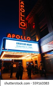 New York, NY, USA September 5, 2012 The Apollo Theater in Harlem, New York City, is a landmark in American culture
