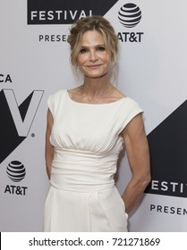 New York, NY USA - September 24, 2017: Kyra Sedgwick attends Ten Days in the Valley series premiere during Tribeca TV festival at Cinepolis Chelsea