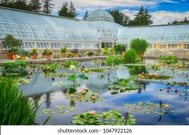New York, NY/USA-07/08/2017: The New York Botanical Garden