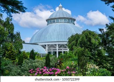 New York, NY/USA-07/10/16: The New York Botanical Garden